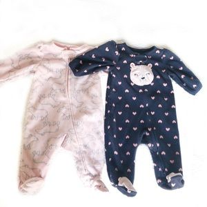 Carter's & Just One You Footed Sleepers Bundle